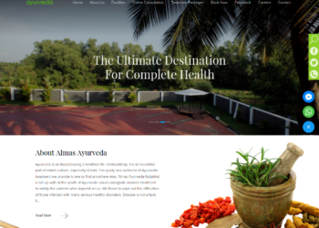 texol-websites-portfolio-Almas-Ayurveda-Kottakkal